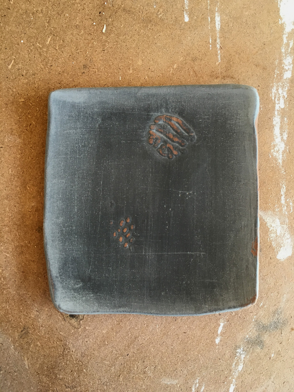 tania rollond_wip small black plate 2019