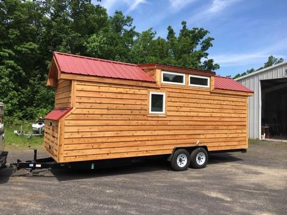 The Landon: A Tiny Home on Wheels