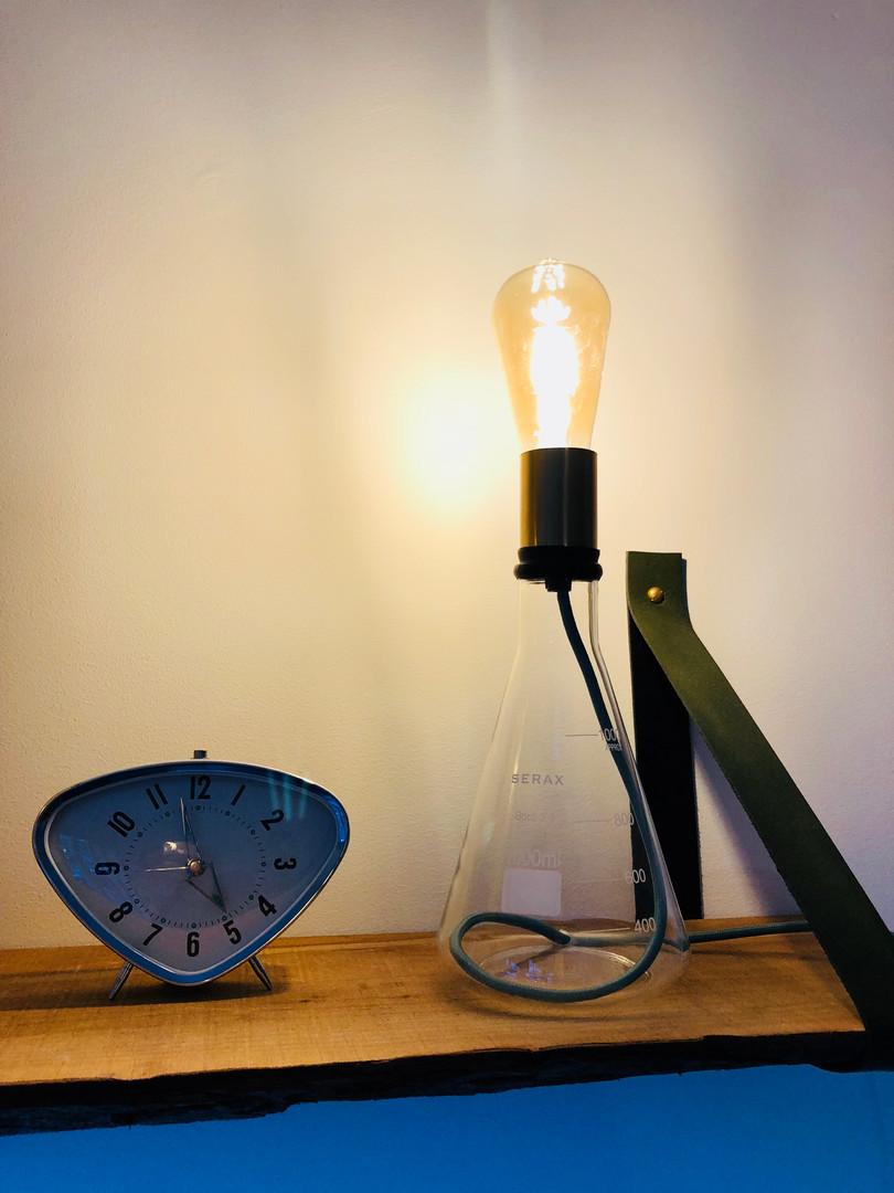 Erlenmeyer Lamp