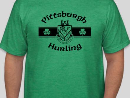 Get your 2018 Pittsburgh Hurling Shirt!
