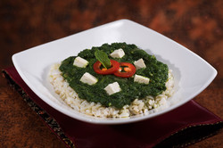 Spinach & Tofu Dinner