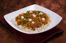 DINNERS - Roasted Eggplant & Tofu