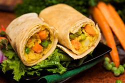 ROTI ROLLS - Mixed Vegetables