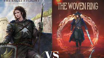 Battle of the 2017 SPFBO Semifinalists: The Eagle's Flight vs The Woven Ring
