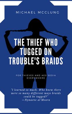Tuggin' On Trouble's Braids