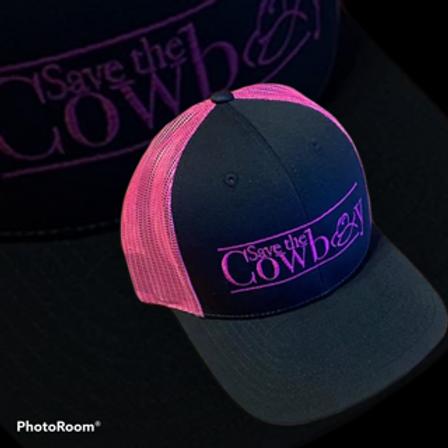 Save the Cowboy Pink Trucker Hat