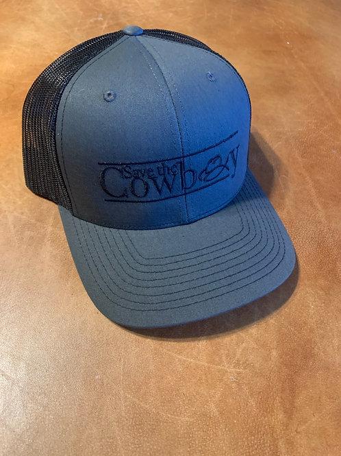 Save the Cowboy Trucker Hat