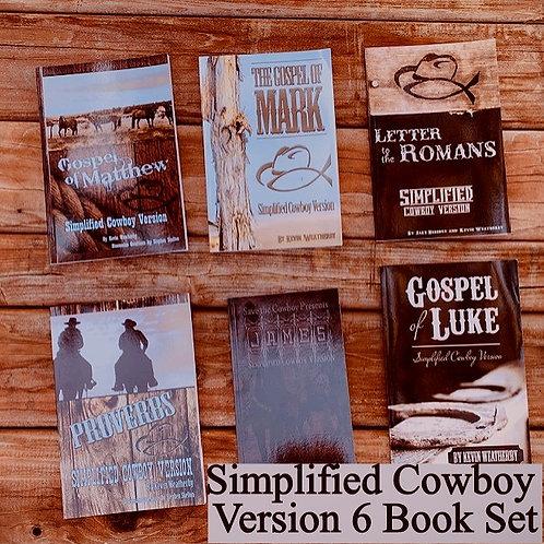 Simplified Cowboy 6 Book Set