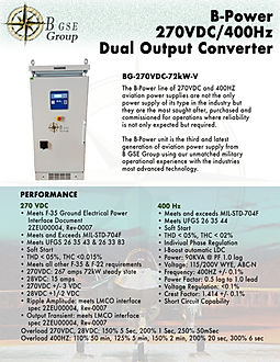 270VDC, 270 VDC, F 35 power supply. frequency converter