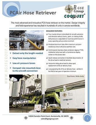 BGSE - Cooljet Hose Retreiver Datasheet