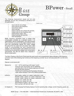 400HZ mobile power point of use 3 B GSE Group