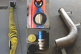 PCA hose ducts, valves and couplings B GSE Group