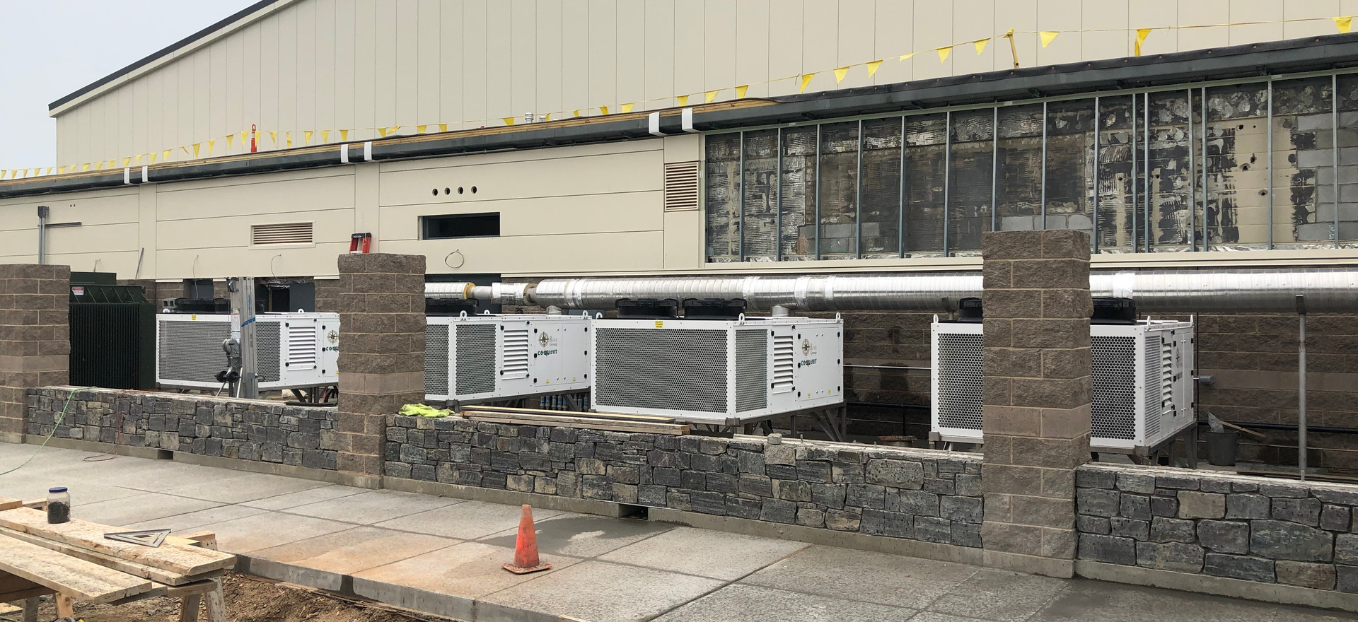 COOLJET AIR UNITS INSTALLED