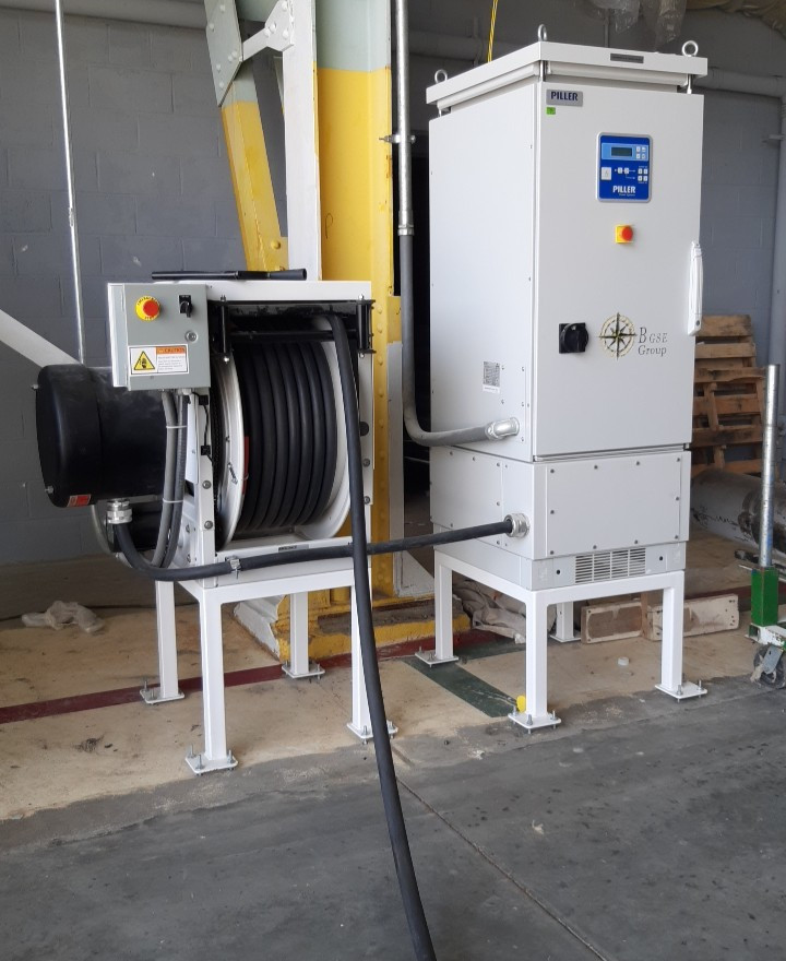 B-POWER 270VDC UNITS WITH HOSE REEL