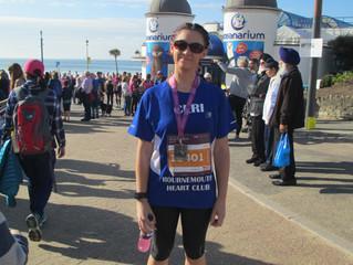 Ceri Completes 1/2 Marathon in 2 hrs 10 mins