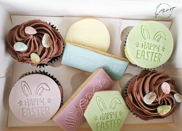 Easter Cupcake & Cookie Box