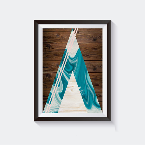 Time Pyramid Poster - Type3