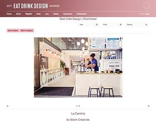 Blank Creatives La Cantina Eat Drink Des