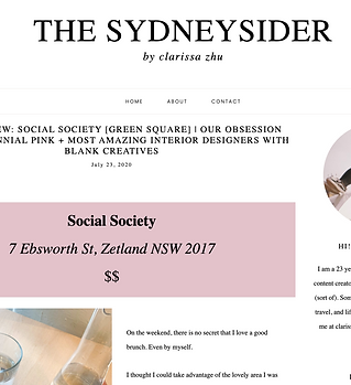 Sydney Sides review of Social society by
