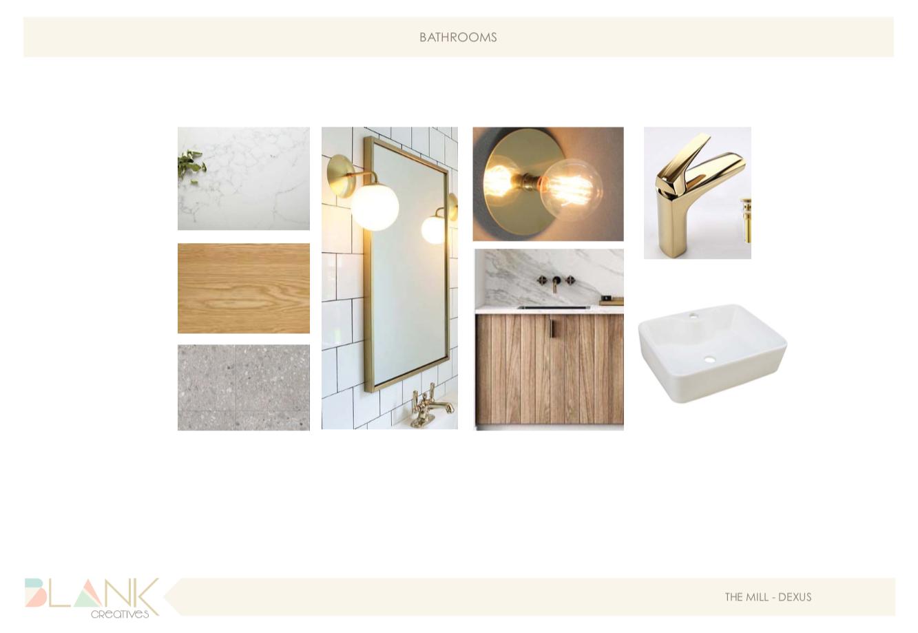 Office interior design bathroom concept.