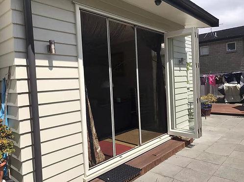 Pleated Screen Door & Window