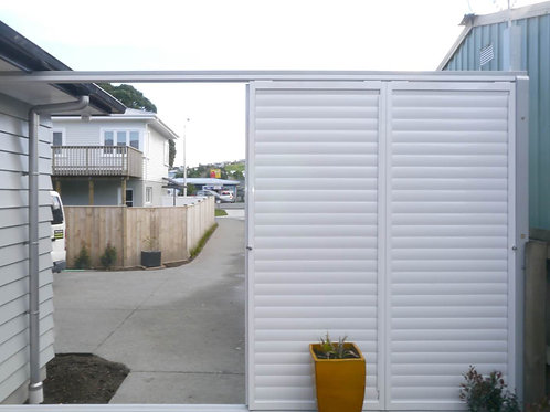 Outdoor Aluminium Shutters