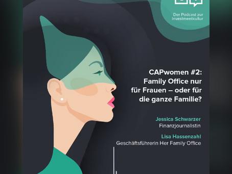 CAPwomen #2: Family Office nur für Frauen – oder für die ganze Familie?