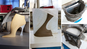 Slip casting moulds for heels