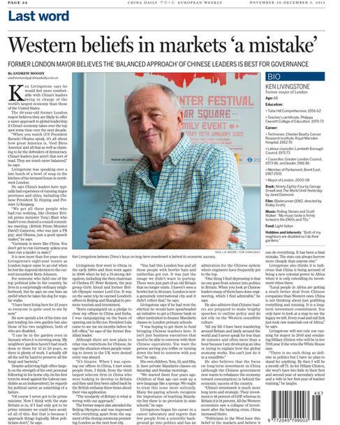 China Daily_20131129 Ken Livingstone-31.