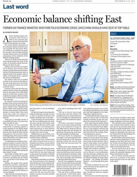 China Daily Alistair Darling pdf_2011110