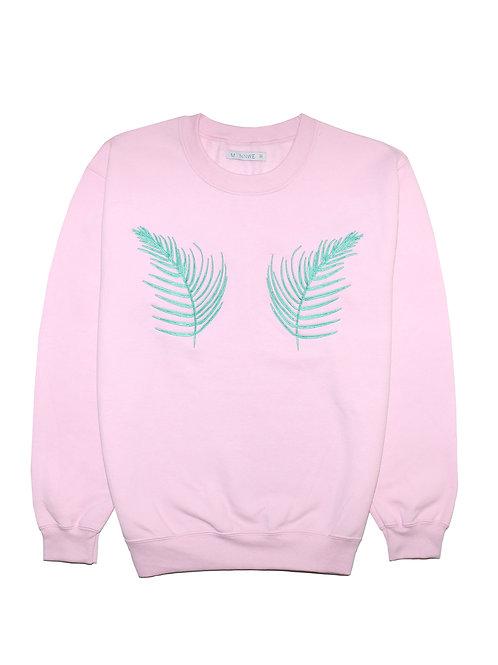 Palm Embroidered Sweatshirt
