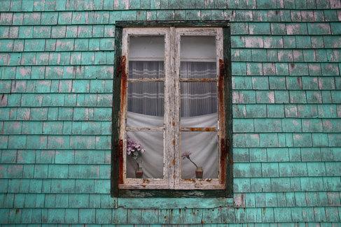 Les petites maisons de l'île aux Marins