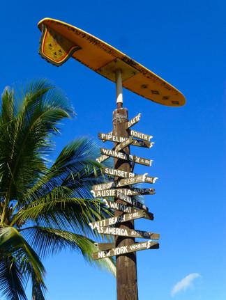 North Shore - Littoral mondialement connu pour la pratique du surf