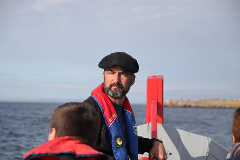 Sur la mer en Doris