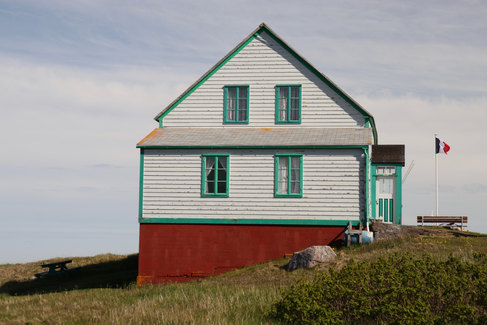 L'ancienne mairie de l'île aux Marins.