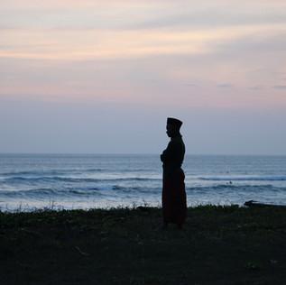 Un soir, sur la côte de Canggu