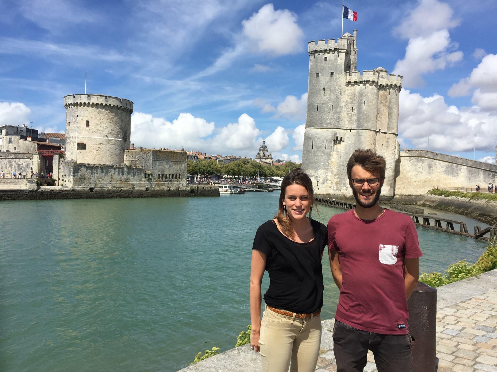 L'équipe GéOdyssées à La Rochelle