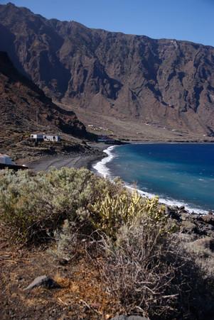 Las Playas - superbe baie encore protégée du tourisme.