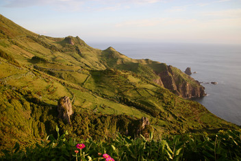 Flores était peuplée pendant plusieurs siècles par des agriculteurs et éleveurs.