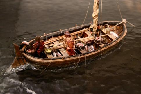 La pêche à la morue était également la première ressource économique de l'île au vingtième siècle. Musée de Castle Hill - Placentia.