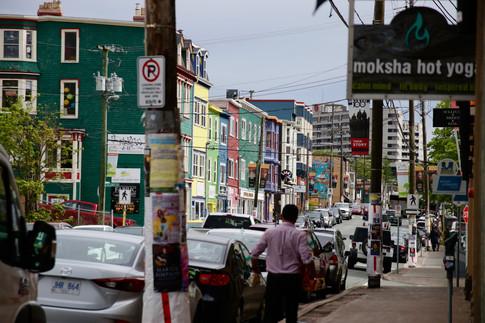 Dans les rues de St-John's