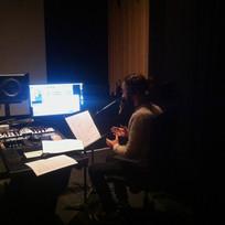 Enregistrement des voix-off du documentaire