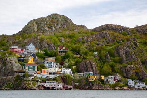Les maisons colorées de St-John's
