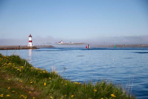 L'île aux Marins, vue depuis St-Pierre.