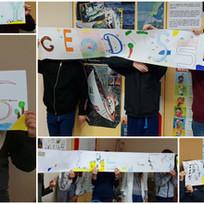 Les réalisations des élèves de 6G du collège Beauregard, La Rochelle