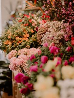 les fleurs fraîches