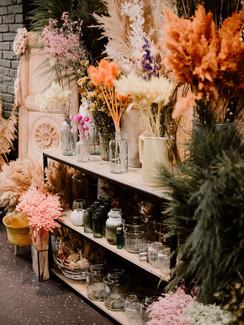 le coin des fleurs séchées