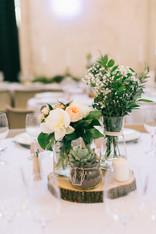 Décoration florale table