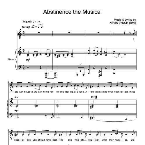 Abstinence the Musical [Sheet Music]
