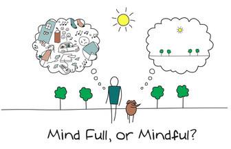 Mind full, or mindful?